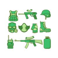 Gratis Airsoft Icon Vector