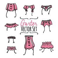Garter Hand Drawn Vector