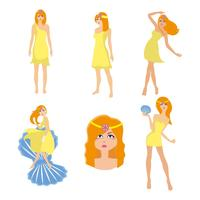 Aphrodite Greek God Vector gratis