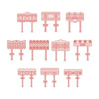 Free Garter Collection Vector