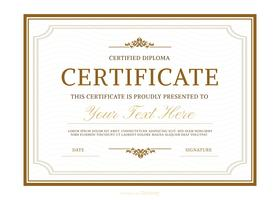 Certificate template free vector art 11486 free downloads vector diploma template yadclub Choice Image