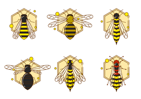 Gratis Hornets Icon Vector