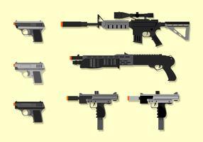 Vector libre de Heavy Airsoft Gun