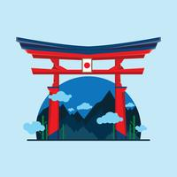 Decorated Shrine Vector