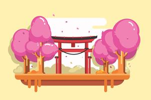 Free Shrine Vector