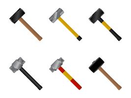3D Sledgehammer Vector