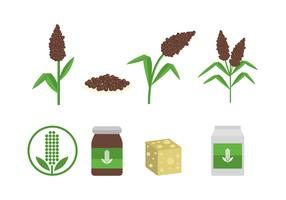 Free Sorghum Vector Icons