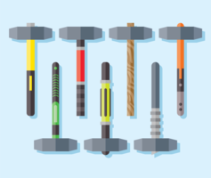 Sledgehammer Icons Vector