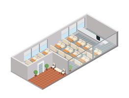 Kantine van Office Gratis Vector