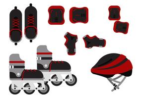 Rollerblade Equipment Free Vector