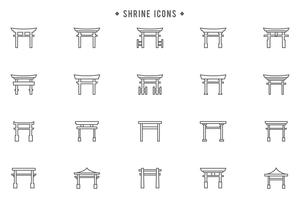 Free Shrine Vectors