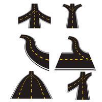 Vettore di strada autostrada