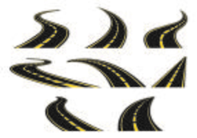 Set Of Highway Icon