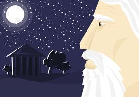 Socrates Illustration Vector #2