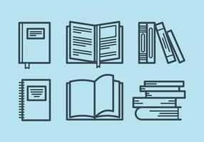 Libro Vector Icons