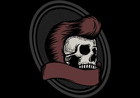 Skull Greaser Badge