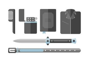 Free Greaser Accessories Vectors