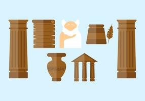 Free Outstanding Greek Vectors