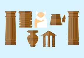Vectores griegos excepcionales gratis