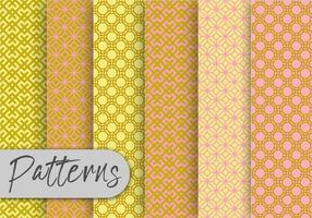 Orient Geometric Pattern Set  vector
