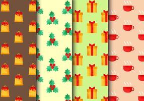 Patrones de Navidad sin costuras gratis