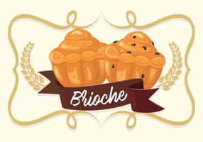 Brioche Background Illustration Vector