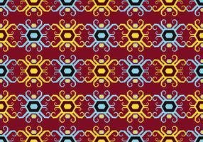 Dayak Seamless Pattern