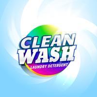 détergent à lessive et savon produit emballage concept conception temp