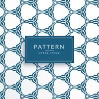 Fondo de patrón de vector de estilo islámico