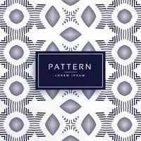 Fondo de diseño de patrón de línea de vector de forma abstracta geométrica