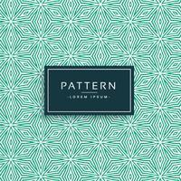 diseño de patrón de estilo flor verde abstracto