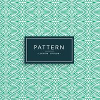 grön abstrakt blomma stil mönster design