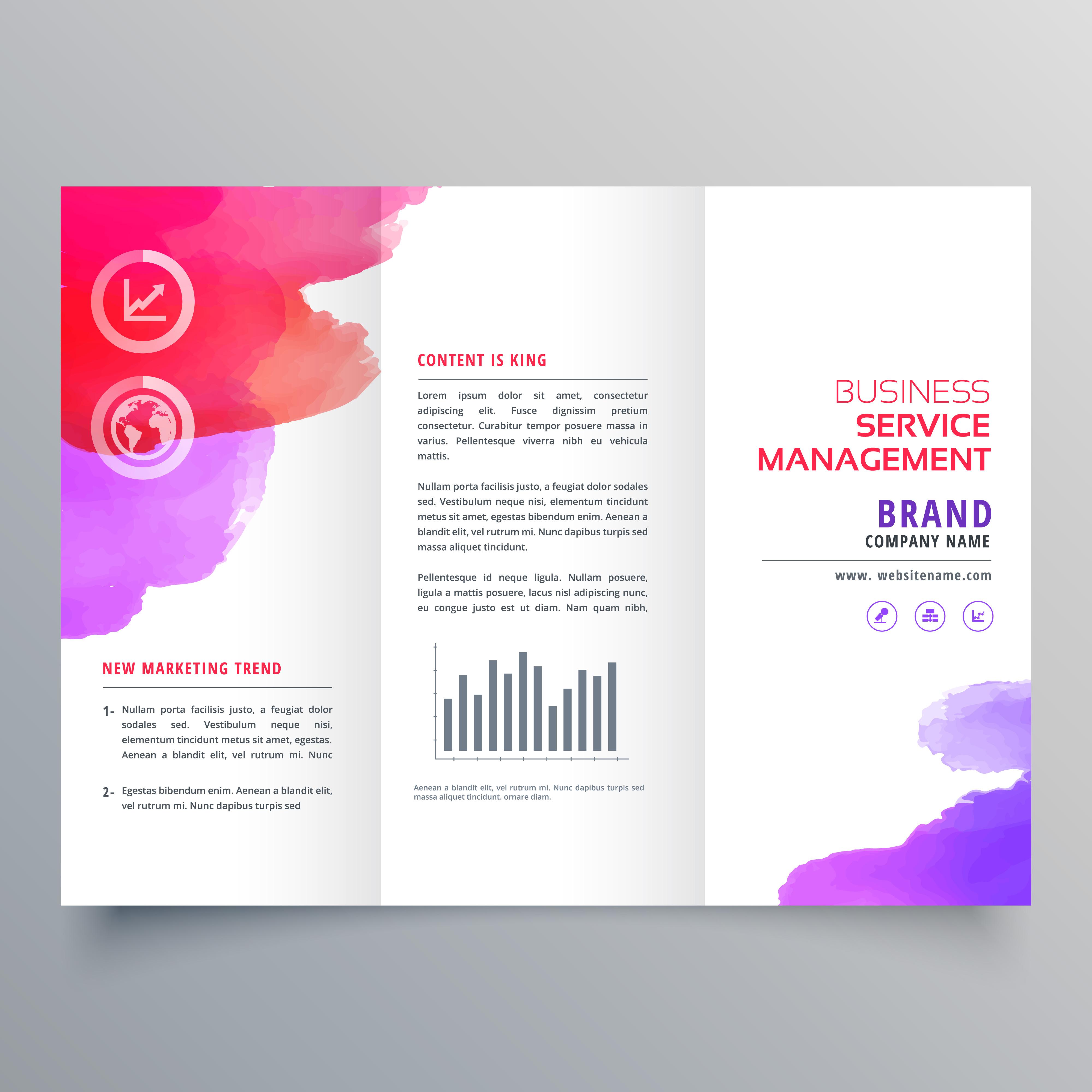 Ausgezeichnet Marketing Broschüre Vorlagen Kostenlos Bilder ...