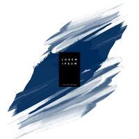 dark blue paint stroke vector background