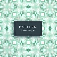 Fondo de vector geométrico moderno patrón verde