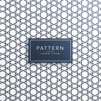 Fondo de vector de patrón de línea abstracta