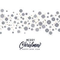 patrón de copo de nieve para la temporada de Navidad feliz