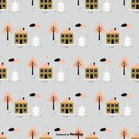 Seamless Winter Vector Pattern