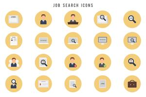 Free Job Search Vectors