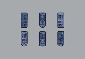 Gratis Simple Tv Remote Vector