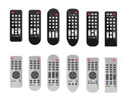 Iconos remotos de control remoto o TV