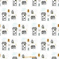 Scandinavian Vector Pattern