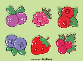 Hand Drawn Berries Vector