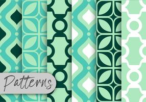 Mint Decor patroon set