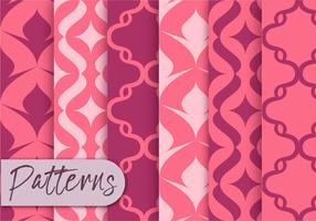 Pink Decor Pattern Set