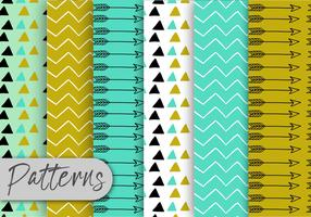 Cute Arrow Pattern Set  vector