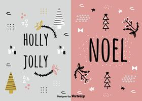Holidays Card Set