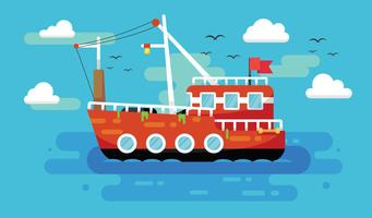 Free Trawler Vector