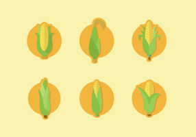 Corn Staltks Free Vector Pack