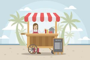 Free Concession Illustrator vector